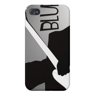 Blues player's silhouette with a spotlight iPhone 4/4S covers