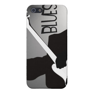 Blues player's silhouette with a spotlight iPhone 5 covers