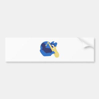 Blues Sax Bumper Sticker