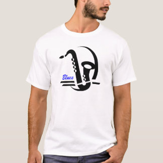 Blues Sax T-Shirt