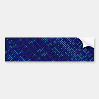 Blues Style Background Bumper Sticker