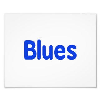 Blues word blue music design png photo art