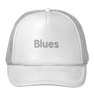 Blues word grey music design.png hat