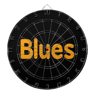 Blues word l orange music design.png dart boards