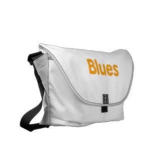 Blues word l orange music design.png messenger bag