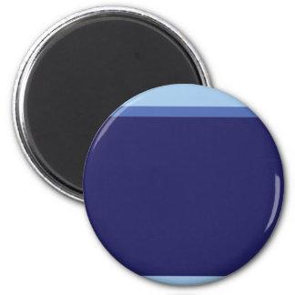 Bluesband 6 Cm Round Magnet
