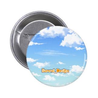 bluesky 6 cm round badge