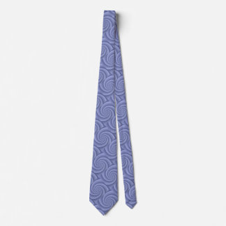 BlueSlate  Spiral in brushed metal texture Tie