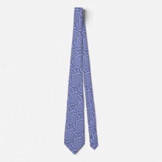 BlueSlate  Spiral in brushed metal texture Tie