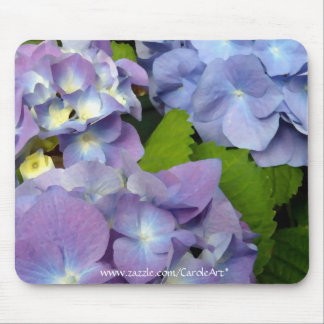 Bluest Blue Hydrangeas Mousepad