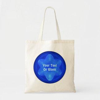 Bluestar Fractal Tote Bag