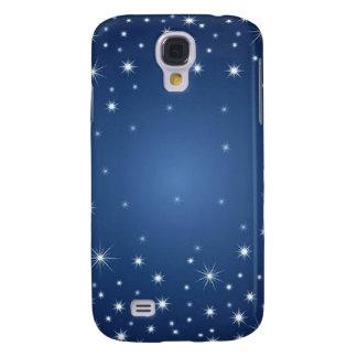 bluestarrybackground samsung galaxy s4 case