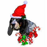 Bluetick Coonhound Christmas Gifts Cut Out