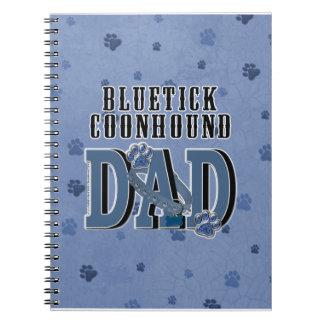 Bluetick Coonhound DAD Spiral Note Book