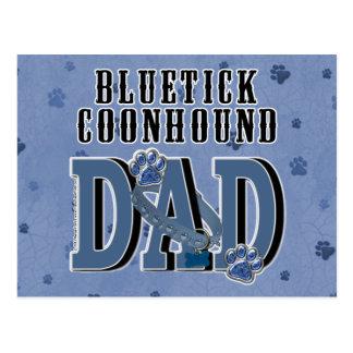 Bluetick Coonhound DAD Postcard