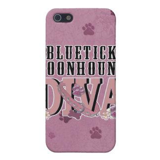Bluetick Coonhound DIVA iPhone 5 Cases