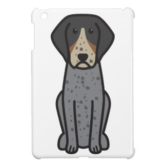 Bluetick Coonhound Dog Cartoon Cover For The iPad Mini
