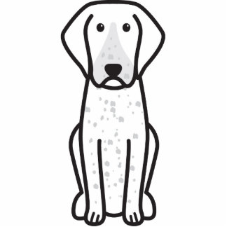 Bluetick Coonhound Dog Cartoon Photo Cut Outs