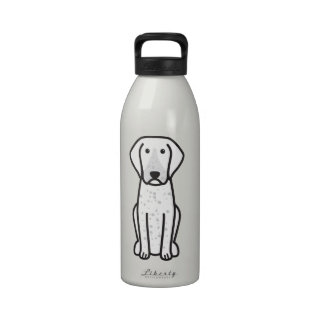 Bluetick Coonhound Dog Cartoon Drinking Bottles