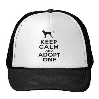 Bluetick Coonhound Trucker Hat