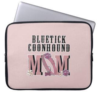 Bluetick Coonhound MOM Laptop Computer Sleeves