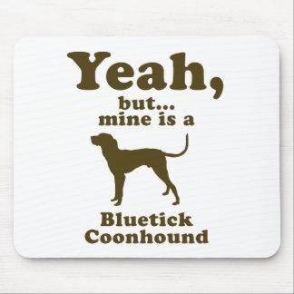 Bluetick Coonhound Mouse Mat