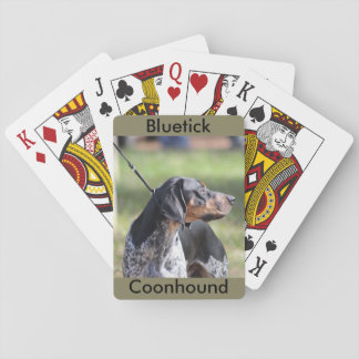 Bluetick Coonhound Playing Cards