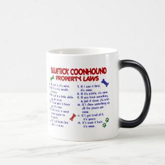 BLUETICK COONHOUND Property Laws 2 Magic Mug