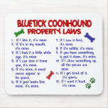 BLUETICK COONHOUND Property Laws 2 Mousemats
