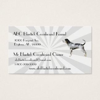 Bluetick Coonhound with white Starburst