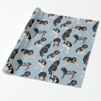 Bluetick Coonhound Wrapping Paper