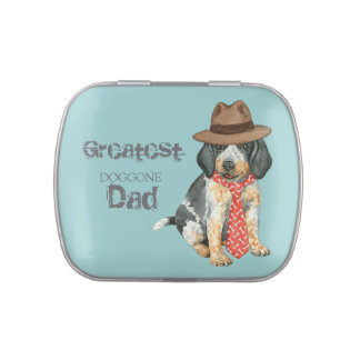 Bluetick Dad Jelly Belly Tin