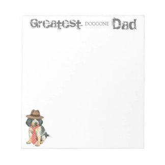 Bluetick Dad Note Pads