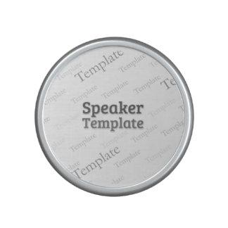 Bluetooth NFC Pairing Mini Speaker Custom Template