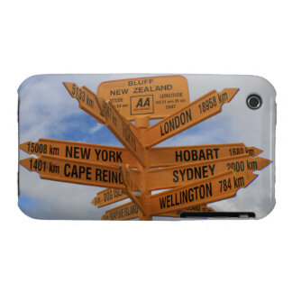 Bluff, New Zealand Case-Mate iPhone 3 Cases