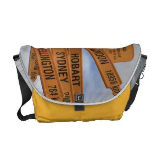 Bluff, New Zealand Courier Bag