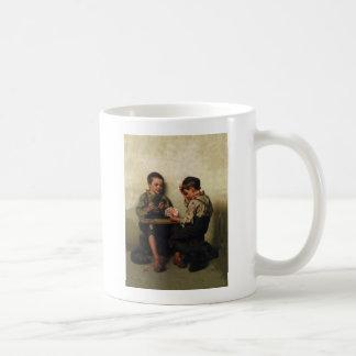 Bluffing ~ Shoe Shine Boys Playing Poker(1885) Coffee Mugs