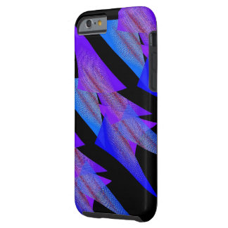 Bluish and Black Style iPhone case Tough iPhone 6 Case