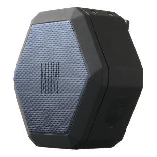Bluish Gray Gradient custom monogram speaker