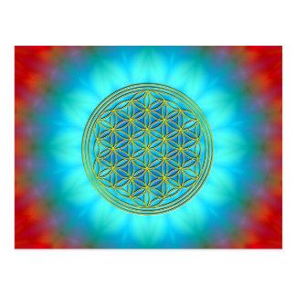Blume des Lebens Motiv 11 Postkarten