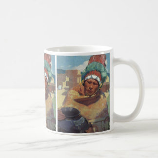 Blumenschein, Taos Native American Indian Portrait Coffee Mug