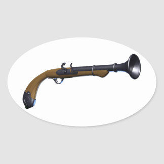 Blunderbuss Firearm Stickers