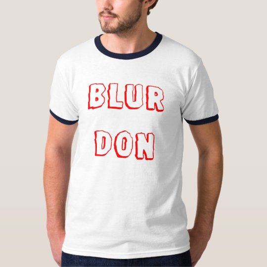 Blur Don T-Shirt