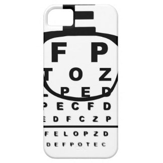 Blurr Eye Test Chart Case For The iPhone 5