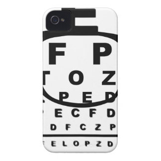 Blurr Eye Test Chart iPhone 4 Case