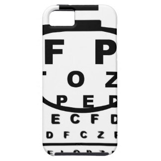 Blurr Eye Test Chart iPhone 5 Covers