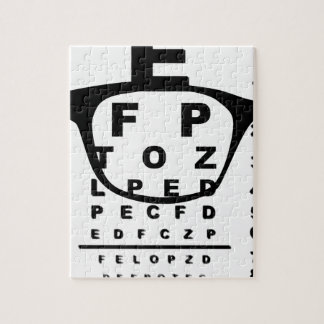 Blurr Eye Test Chart Jigsaw Puzzle