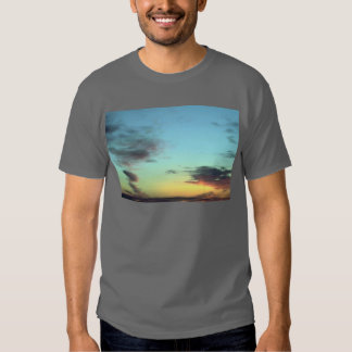 Blurred Clouds In The Sky T-shirts