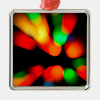 Blurred color background christmas ornament