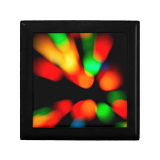 Blurred color background gift box